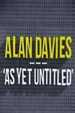 Alan Davies: As Yet Untitled: Season 2