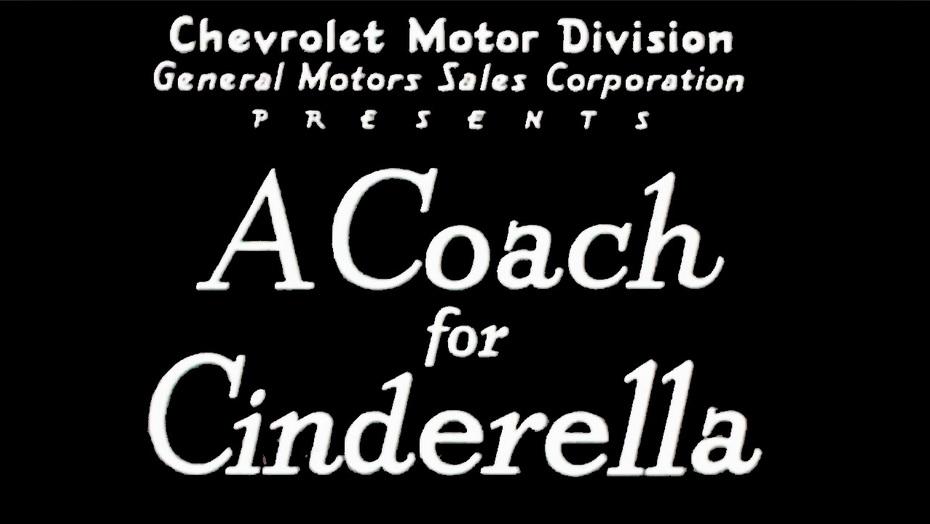 A Coach For Cinderella