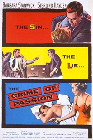 Crime Of Passion 1957