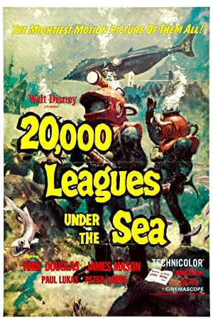 20,000 Leagues Under The Sea 1954