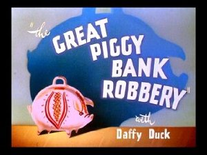 The Great Piggy Bank Robbery