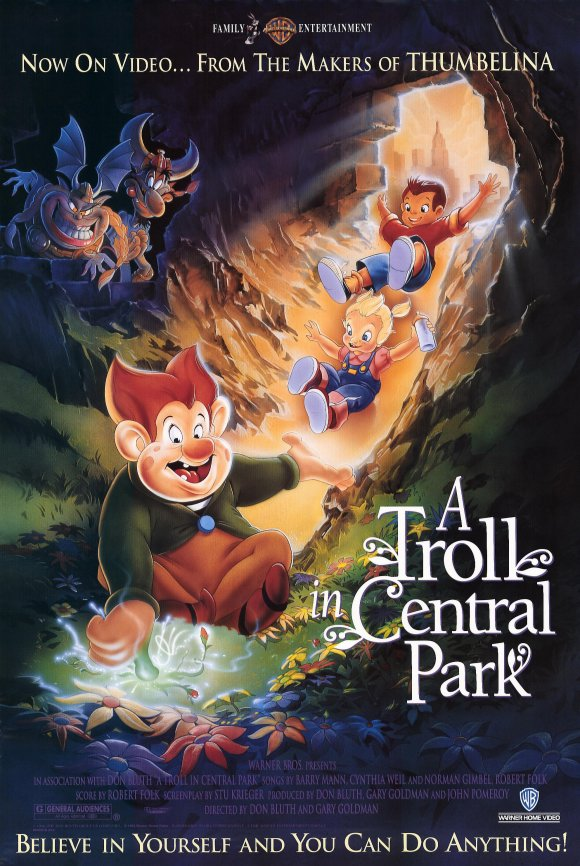 A Troll In Central Park