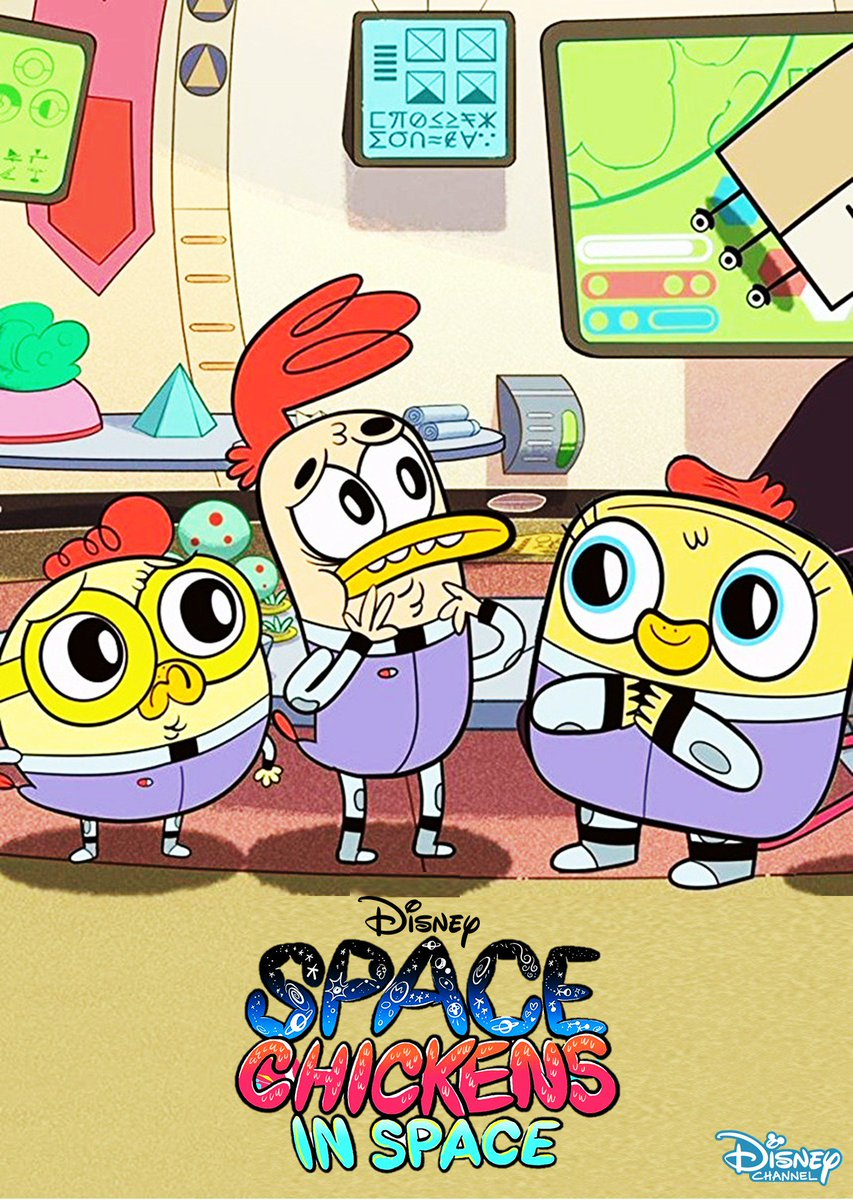 Space Chickens In Space